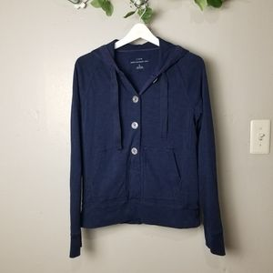 J Crew washed heavyweight hoodie size L